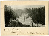 Baker River, towards Mt. Baker