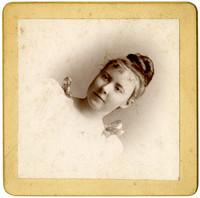 Studio portrait of Rita Christopher