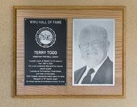 Hall of Fame Plaque: Terry Todd, Coach, Class of 2007