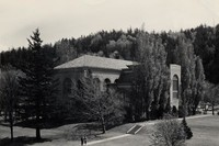 1950 Library: Southwest Facade