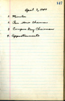 AS Board Minutes 1940-04