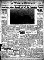 Weekly Messenger - 1927 October 7