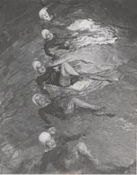 Blue Barnacles Swim Club Members in Pool