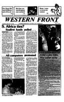 Western Front - 1985 January 15