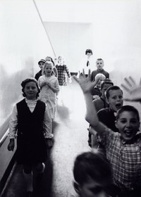1965 Students on One of Campus School's Ramps