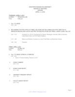WWU Board of Trustees Packet: 2019-04-04