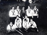 1919 Baseball Girls