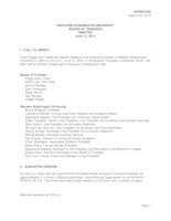 WWU Board of Trustees Meeting Records 2013 June