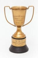 Basketball (Men's) Trophy: County-City league, WWC super-varsity 3rd place, 1940/1941