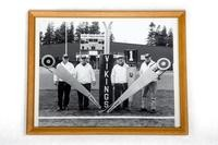 Football Photograph: Chain Crew, Civic Stadium, undated