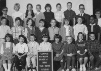 1966 Fourth Grade Class with Ted Mork