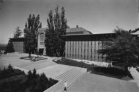 1962 Library: South Side Exterior