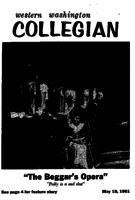 Western Washington Collegian - 1961 May 19 -