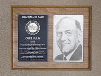Hall of Fame Plaque: Chet Ullin, Football (Guard), Class of 1996