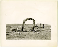 American Camp  - ruins of cemetery