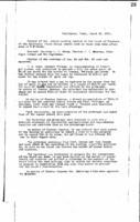 WWU Board minutes 1911 March
