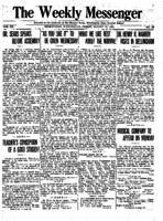 Weekly Messenger - 1921 August 12