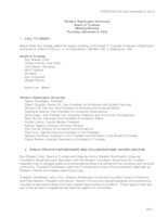 WWU Board of Trustees Minutes: 2016-12-08