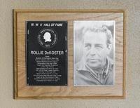 Hall of Fame Plaque: Rollie DeKoster, Alumnus, Class of 1992