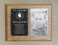 Hall of Fame Plaque: Rollie DeKoster, Alumnus, Class of 1992