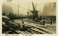 Lower Baker River dam construction 1925-07-30 Roof Forms