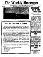 Weekly Messenger - 1922 April 21