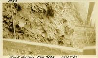 Lower Baker River dam construction 1925-10-29 Rock Surface Run #248