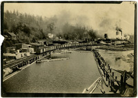 Samish Bay Logging Company facility at Blanchard