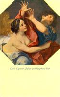 Carlo Cignani - Joseph und Potiphars Weib (postcard)