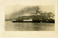 """The """"Windber"""" cannery vessel in Bellingham Bay"""