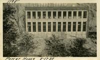 Lower Baker River dam construction 1925-08-17 Power House