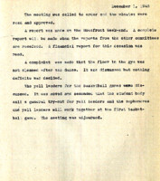 AS Board Minutes 1943-12