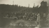 1927 Campus Day: Crowd Watching Races