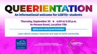 LGBTQ+ Western Queerientation digital ad