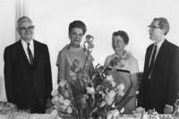 1969 Faculty Retirement Tea
