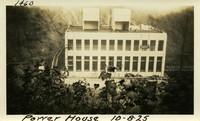 Lower Baker River dam construction 1925-10-08 Power House
