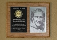 Hall of Fame Plaque: Larry Nielson, Cross-Country Running, Track and Field, Class of 2000