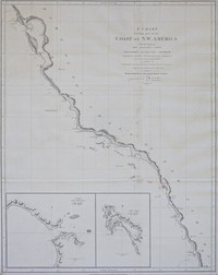 A Chart Showing Part of the Coast of N.W. America with the Tracks of His Majesty's Sloop Discovery and Armed Tender Chatham