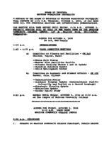 WWU Board minutes 1990 October
