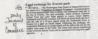 Land exchange for Everett Park
