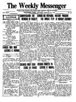 Weekly Messenger - 1919 January 25