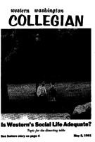Western Washington Collegian - 1961 May 5