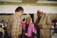 2007 Reunion--Hal Lewis Greets Lois Spratlen and Thaddeus Spratlen