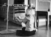 1943 Barbara Jean Hansen Weaving