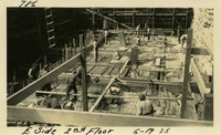 Lower Baker River dam construction 1925-06-19 E. Side 2nd Floor