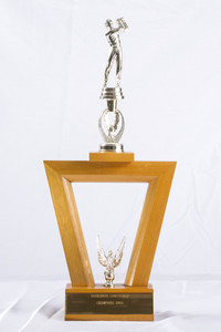 Golf (Men's) Trophy: Evergreen Conference Champions, 1966