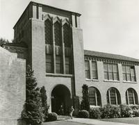 1960 Campus School Building Main Entrance (School's Out!)