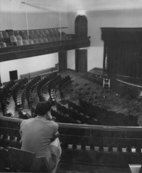 1947 Main Building: Auditorium