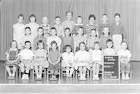 1961 First Grade Class with Katherine Casanova