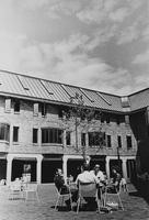 1969 Miller Hall: Courtyard